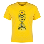 Ecuador Copa America 2015 Youth T-Shirt (Yellow)