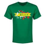 Bolivia Copa America 2015 Youth T-Shirt (Green)