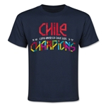 Copa American 2015 Champions Youth T-Shirt (Navy)