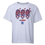 England Three Lions Youth T-Shirt (White)