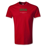Iran FIFA Beach World Cup 2013 Youth T-Shirt (Red)