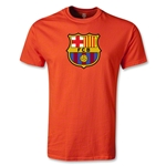 Barcelona Core Youth T-Shirt (Orange)
