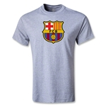 Barcelona Core Youth T-Shirt (Gray)