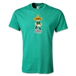 1970 FIFA World Cup Juanito Mascot Youth T-Shirt (Green)
