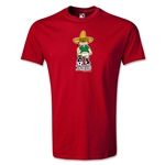 1970 FIFA World Cup Juanito Mascot Youth T-Shirt (Red)