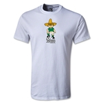 1970 FIFA World Cup Juanito Mascot Youth T-Shirt (White)