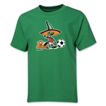 1986 FIFA World Cup Pique Mascot Youth T-Shirt (Green)