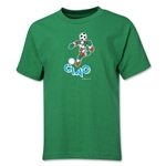 1990 FIFA World Cup Ciao Mascot Youth T-Shirt (Green)