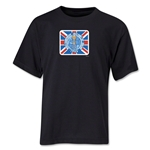 1966 FIFA World Cup Emblem Youth T-Shirt (Black)