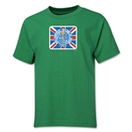 1966 FIFA World Cup Emblem Youth T-Shirt (Green)