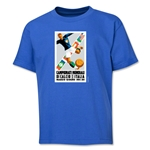1934 FIFA World Cup Emblem Youth T-Shirt (Royal)