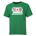 1986 FIFA World Cup Emblem Youth T-Shirt (Green)