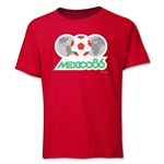 1986 FIFA World Cup Emblem Youth T-Shirt (Red)