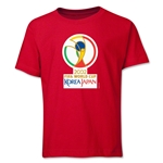 2002 FIFA World Cup Emblem Youth T-Shirt (Red)