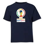 2002 FIFA World Cup Emblem Youth T-Shirt (Navy)
