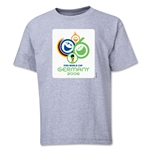 2006 FIFA World Cup Emblem Youth T-Shirt (Grey)