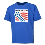 1994 FIFA World Cup Emblem Youth T-Shirt (Royal)