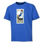 1930 FIFA World Cup Emblem Youth T-Shirt (Royal)