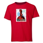 1938 FIFA World Cup Emblem Youth T-Shirt (Red)