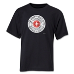 1954 FIFA World Cup Emblem Youth T-Shirt (Black)