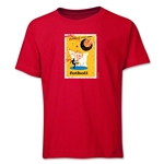 1958 FIFA World Cup Emblem Youth T-Shirt (Red)