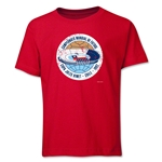 1962 FIFA World Cup Emblem Youth T-Shirt (Red)