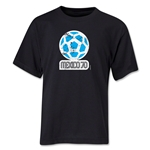 1970 FIFA World Cup Emblem Youth T-Shirt (Black)