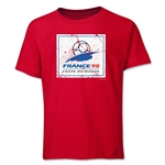 1998 FIFA World Cup Emblem Youth T-Shirt (Red)