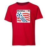 1994 FIFA World Cup Emblem Youth T-Shirt (Red)