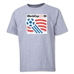 1994 FIFA World Cup Emblem Youth T-Shirt (Grey)