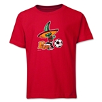 1986 FIFA World Cup Pique Mascot Logo Youth T-Shirt (Red)
