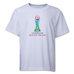 FIFA U-20 World Cup New Zealand 2015 Youth Emblem T-Shirt (White)