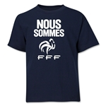 France Nous Sommes Youth T-Shirt (Navy)
