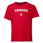 Canada FIFA U-17 Women's World Cup Costa Rica 2014 Youth Core T-Shirt (Red)