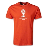 2014 FIFA World Cup Brazil(TM) Youth Emblem T-Shirt (Orange)
