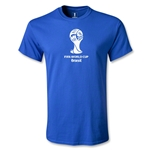 2014 FIFA World Cup Brazil(TM) Youth Emblem T-Shirt (Royal)