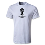 2014 FIFA World Cup Brazil(TM) Youth Emblem T-Shirt (White)