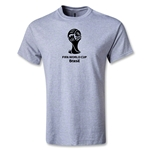 2014 FIFA World Cup Brazil(TM) Youth Emblem T-Shirt (Gray)