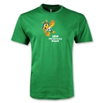 2014 FIFA World Cup Brazil(TM) Youth Mascot T-Shirt (Green)