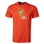 2014 FIFA World Cup Brazil(TM) Youth Mascot T-Shirt (Orange)