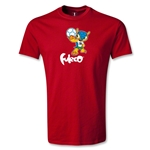 2014 FIFA World Cup Brazil(TM) Youth Mascot T-Shirt (Red)