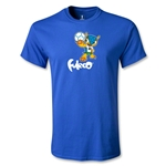 2014 FIFA World Cup Brazil(TM) Youth Mascot T-Shirt (Royal)