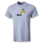 2014 FIFA World Cup Brazil(TM) Youth Mascot T-Shirt (Gray)