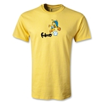 2014 FIFA World Cup Brazil(TM) Youth Mascot T-Shirt (Yellow)
