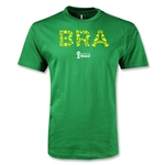 Brazil 2014 FIFA World Cup Brazil(TM) Youth Elements T-Shirt (Green)