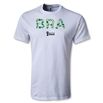 Brazil 2014 FIFA World Cup Brazil(TM) Youth Elements T-Shirt (White)