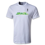 2014 FIFA World Cup Brazil(TM) Youth Team Brazil T-Shirt (White)