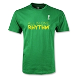 2014 FIFA World Cup Brazil(TM) Youth All In One Rhythm T-Shirt (Green)
