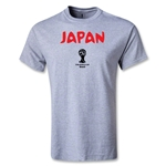2014 FIFA World Cup Brazil(TM) Japan Core Youth T-Shirt (Gray)