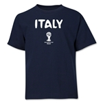 Italy 2014 FIFA World Cup Brazil(TM) Youth Core T-Shirt (Navy)